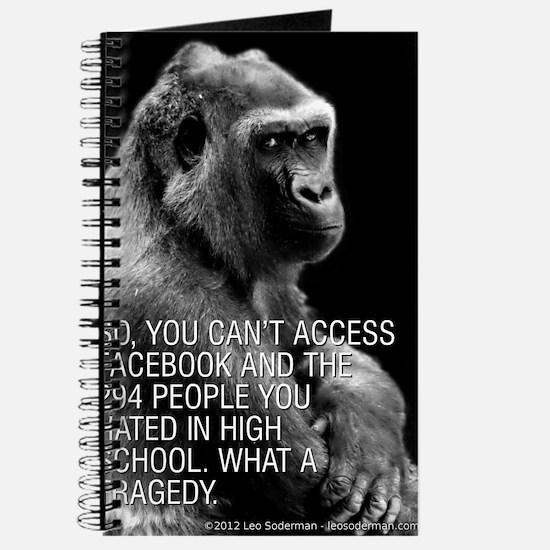 Grumpy Gorilla: Facebook Journal