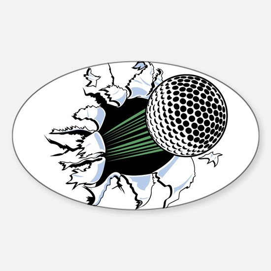 Golf5 Oval Decal