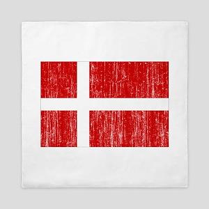 Denmark Flag Queen Duvet