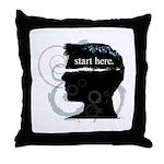 Revolutions Start Here Graphic Throw Pillow