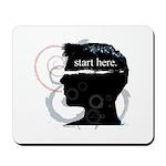 Revolutions Start Here Graphic Mousepad