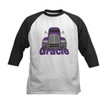 Trucker Gracie Kids Baseball Jersey