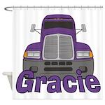 Trucker Gracie Shower Curtain