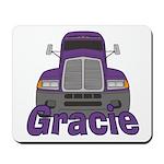 Trucker Gracie Mousepad