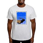 Winter Bugling Elk Light T-Shirt