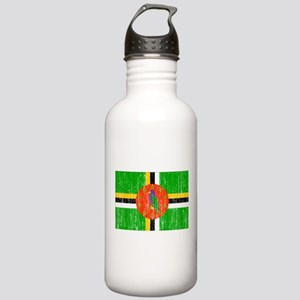 Dominica Flag Stainless Water Bottle 1.0L