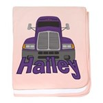 Trucker Hailey baby blanket