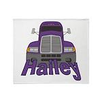 Trucker Hailey Throw Blanket