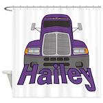 Trucker Hailey Shower Curtain