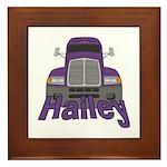 Trucker Hailey Framed Tile