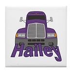 Trucker Hailey Tile Coaster