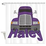 Trucker Haley Shower Curtain