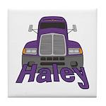 Trucker Haley Tile Coaster