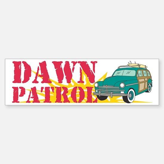 Dawn Patrol Sticker (Bumper)