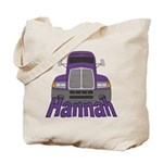 Trucker Hannah Tote Bag
