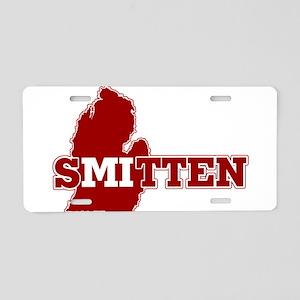 SMitten Aluminum License Plate