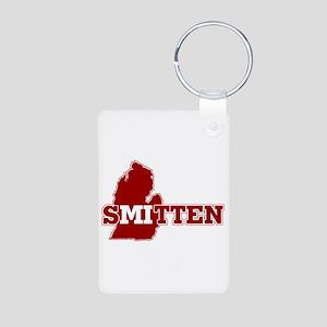 SMitten Aluminum Photo Keychain