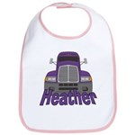 Trucker Heather Bib