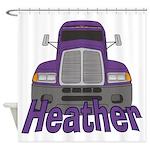 Trucker Heather Shower Curtain