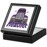 Trucker Heather Keepsake Box
