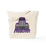Trucker Heather Tote Bag