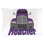 Trucker Heather Pillow Case