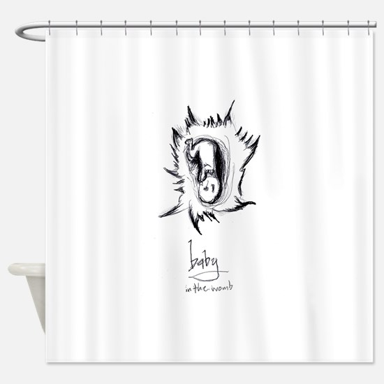 Baby Ready Shower Curtain