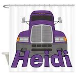 Trucker Heidi Shower Curtain