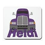 Trucker Heidi Mousepad