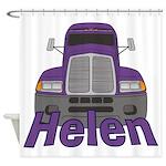 Trucker Helen Shower Curtain