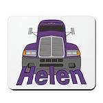 Trucker Helen Mousepad
