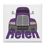 Trucker Helen Tile Coaster