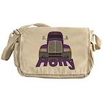 Trucker Holly Messenger Bag