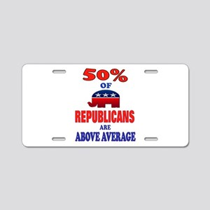 ELECTIONS Aluminum License Plate