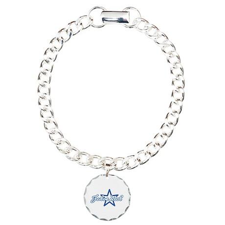 False Idol Charm Bracelet, One Charm