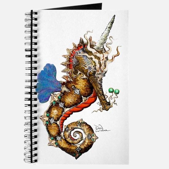 Unicorn Pegasus Seahorse Journal