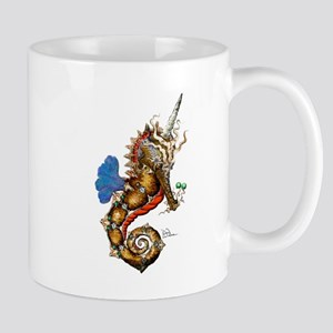 Unicorn Pegasus Seahorse Mug