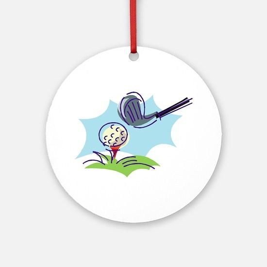 Golf24 Ornament (Round)