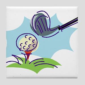 Golf24 Tile Coaster
