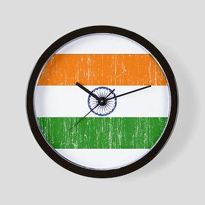 India Flag Wall Clock