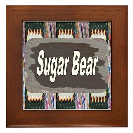 Maternity ~ Sugar Bear Framed Tile