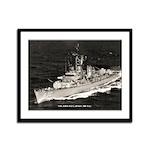 USS JOHN PAUL JONES Framed Panel Print