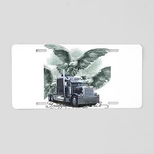 Independent Spirit Aluminum License Plate