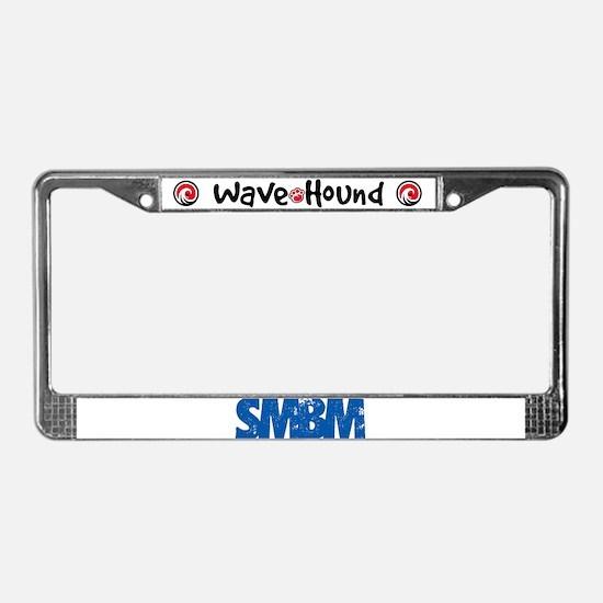 SMBM License Plate Frame