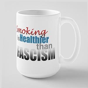 Smoking Fascism Large Mug