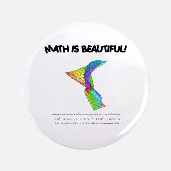 "beautiful_12.jpg 3.5"" Button (100 pack)"