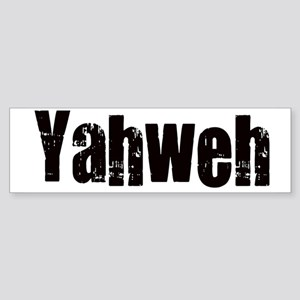 Yahweh Sticker (Bumper)