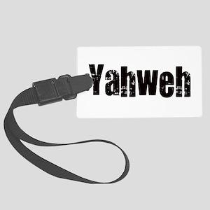Yahweh Large Luggage Tag