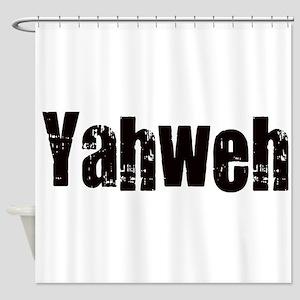 Yahweh Shower Curtain