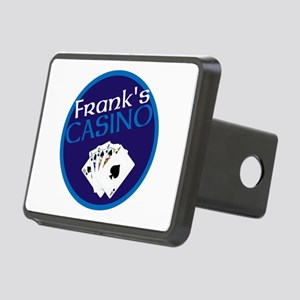 Personalized Casino Rectangular Hitch Cover